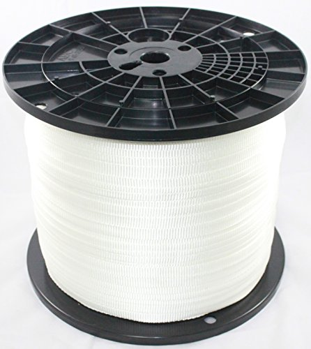 Cajun Mule Line - 3/4 Inch - 2,500 lb. - Pull Tape - Polyester Pulling Tape - Made in USA (3000)