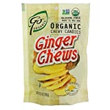 Go Naturally Organic Hard Candy Organic Candy-Ginger Chews-3.5 oz
