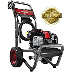 Briggs & Stratton Gas Pressure Washer 2200 PSI 1.9 GPM with 3 Nozzles, 25' High-Pressure Hose & Detergent Injection
