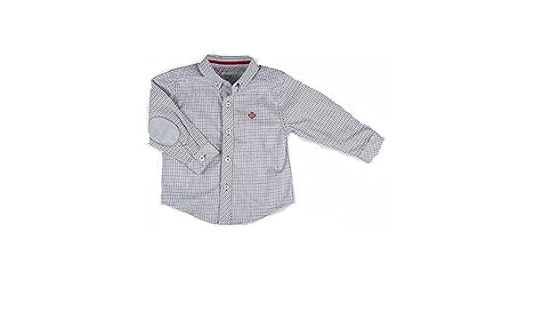 Tutto Piccolo - Camisa - para bebé niño Gris Gris: Amazon.es: Ropa ...