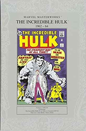 The Incredible Hulk 1963 1964 Marvel Masterworks Stan Lee Jack