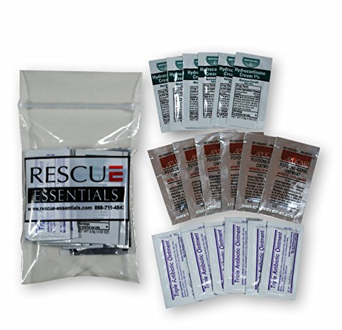 Unit Refill Kit - Topical Treatments Unit DOSE Pack by RESCUE ESSENTIALS
