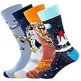 Bonangel Men's Fun Dress Socks-Colorful Funny...