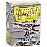 Fantasy Flight Games Dragon Shields Sleeves, 100-Count, Silver