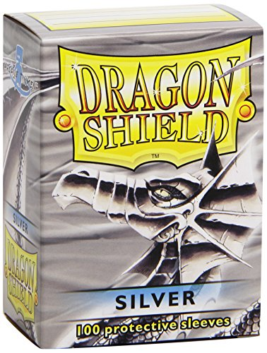 Dragon Shields Sleeves (100-Pack), Silver (Silver Knight Magic compare prices)