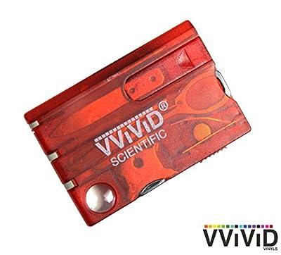 VViViD Pocket Card Compact Emergency Survival Multitool Kit by VViViD