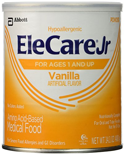 Elecare Jr Vanilla Powder 14.1 Oz Can - 1 case (6 14.1 oz cans)
