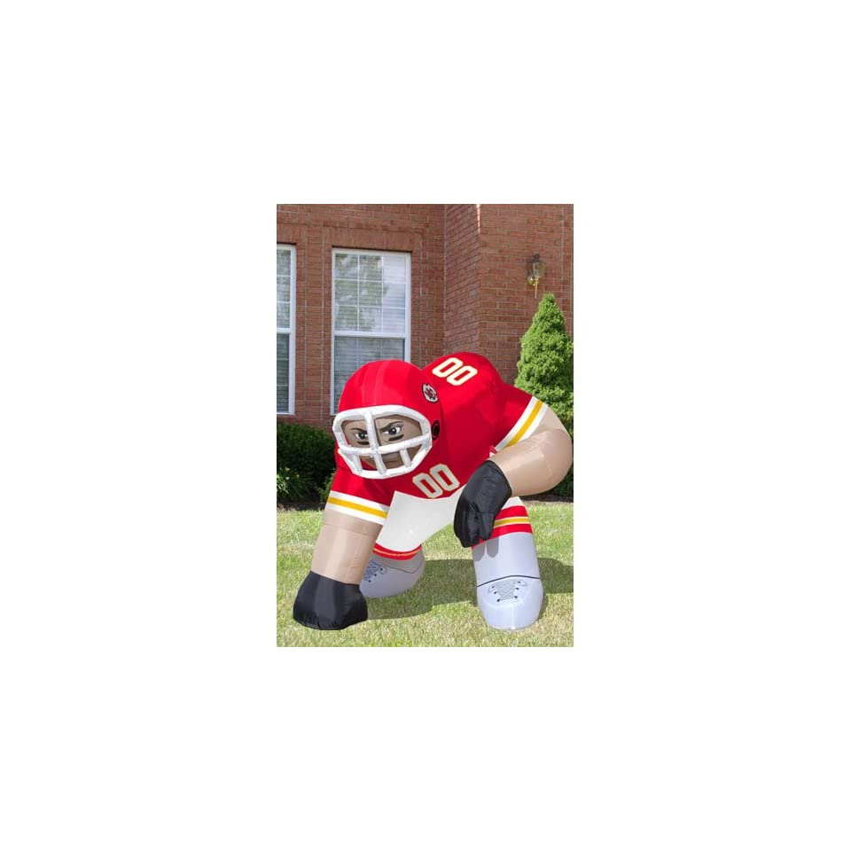 Kansas City Chiefs NFL Inflatable Bubba Player Lawn Figure 60 Tall