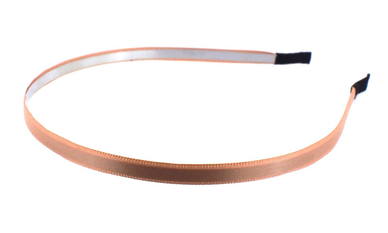 Trimweaver 12-Piece 5mm Satin Lined Metal Headband, 3/16-Inch, Turftan by Trimweaver   B00ICHJ0PO