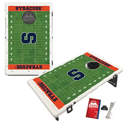 Syracuse University Orange Baggo Bean Bag Toss Cornhole Game Homefield Design by Victory Tailgate