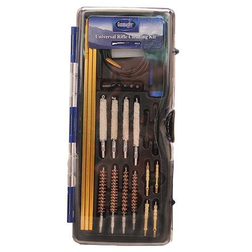 Gunmaster GMLRHY 26Piece Universal Hybrid Rifle Cleaning Kit