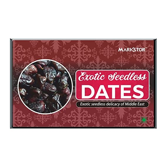 Exotic Seedless Dates (500g) - Fresh & Soft, Imported from The UAE