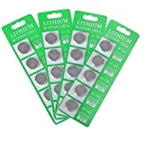 MineTom LED -1 Lot of 20 CR2032 3 Volt Lithium Button Cell Coin Battery, Specially Made for LED Light