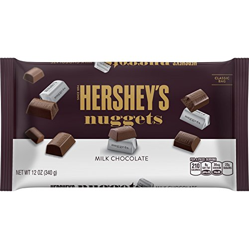 HERSHEYS Nuggets Gluten Free Solid Chocolate