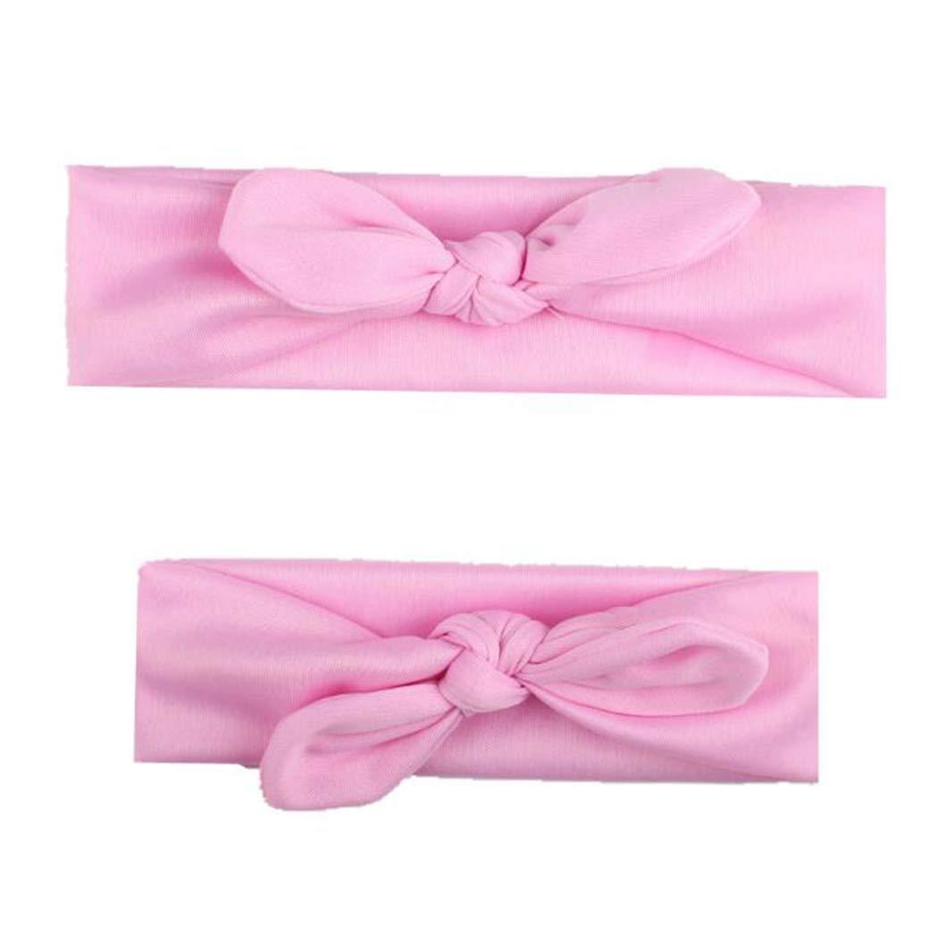 Details about  /Elastic  Newborn Headband 3 Pcs Girls Bow-knot Hair Band Cotton