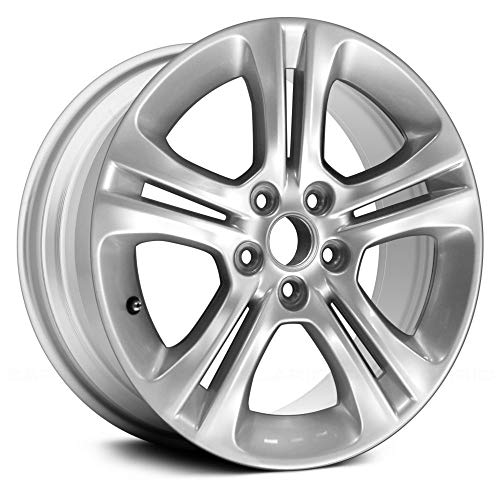 Replacement 5 Double Spokes All Painted Silver Factory Alloy Wheel Fits Dodge Charger Alloy Wheel 5 Double Spoke