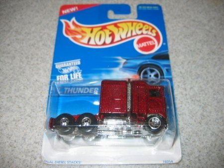 Hot Wheels Blue Card - Mattel Hot Wheels Thunder Roller 483 1991 blue Card