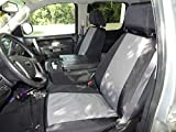 2012 1500 chevy seat covers - Durafit Seat Covers Made to fit- Chevy Truck/Pickup Silverado, Avalanche and GMC Sierra LT 40/20/40 Custom Black/Gray Waterproof Endura Seat Covers.
