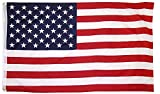 3X5 AMERICAN FLAG  Dimensions -- 3 feet by 5 feet American Flag lovers will look to this flag with a sense of pride! Made from great materials -- is made with 100% polyester and brass grommets.   HANG THESE FLAGS OUTSIDE YOUR HOUSE TO HONOR THE MILI...