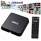 Jabond KODI Full Loaded Dual WIFI 2.4GHZ/5GHZ M8S Android Smart TV Box Amlogic S812 Quad Core 4K 3D Blu-ray Streaming Media Player 2GRAM/8GROM