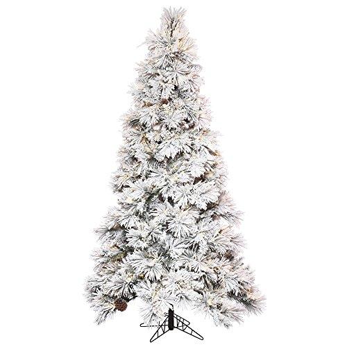 3 Wide Light Pinecone (Vickerman Flocked Atka Pine Christmas Tree)