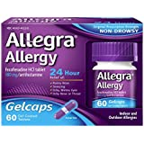 Allegra Allergy 24 Hour Gelcaps, 60 Count