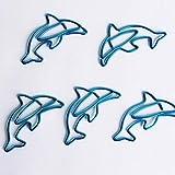 Lessonmart Dolphin Clip Creative Paper Clip Paper Bookmark Paperclip Bureau Accessoires Metal Clip Office Accessories Paper Clip