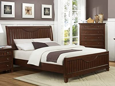 Alyssa Bedroom Collections by Home Elegance in Cherry