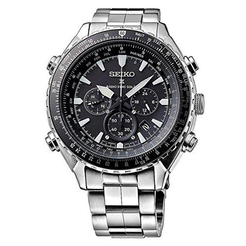 Seiko-orologio-da-uomoCronografo-al-quarzo-in-acciaio-INOX-SSG001P1