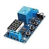 24V Adjustable Pulse Trigger Delay Cycle Timer Delay Switch Relay Control Module - Arduino Compatible SCM & DIY Kits