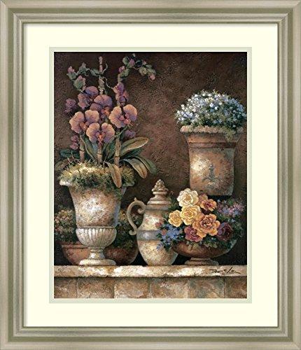 Framed Wall Art Print   Home Wall Decor Art Prints   Victorian Blossoms I by James Lee   Modern - Lee Victorian Print