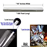 Clear Cellophane Wrap Roll   100' Ft. Long X