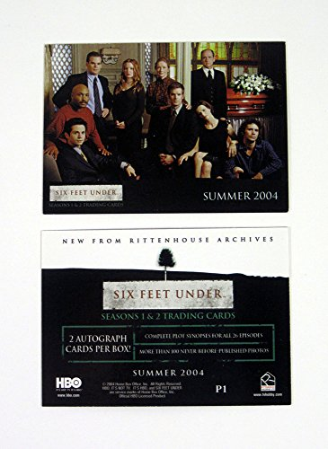 2004 Rittenhouse Six Feet Under Seasons 1 & 2 Promo Card (P1) Nm/Mt (Six Feet Under Season Two compare prices)