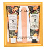 Brompton & Langley Moisturizing Luxury Body Wash, Shea Butter Hand Cream & Nail File Travel Size Gift Set, Orange Bergamot Review