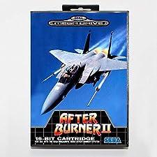 After burner 2 16 bit SEGA MD Game Card With Retail Box For Sega Mega Drive For Genesis ,Sega Genniess-Sega Ninento,16 bit MD Game Card