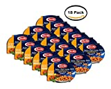 PACK OF 18 - Barilla Italian-Style Entrees Meat Sauce Gemelli, 9.0 OZ