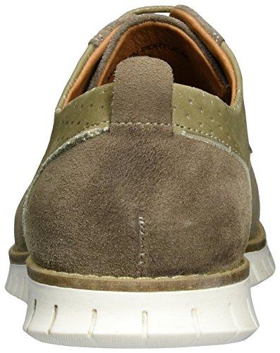 neoneo Luke - Zapatos Derby Hombre Marrón (Taupe)