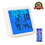 Indoor Thermometer Digital Hygrometer Humidity Monitor with Table...