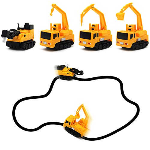 Best Inductive Construction Builder Vehicle Toy Gift Play Set