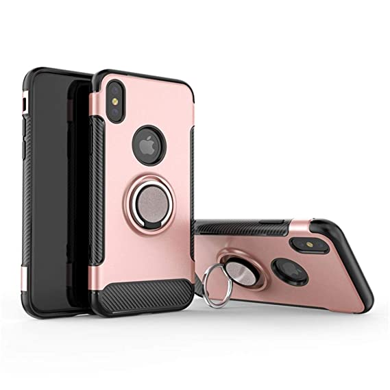 new products f6a6e 079da Amazon.com: Cool iPhone X/XS/iPhone XR Case with Ring Holder ...
