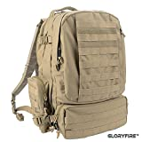 GLORYFIRE Tactical Backpack 3 Day Assault Pack for Outdoor Hiking Camping Trekking Hunting Review