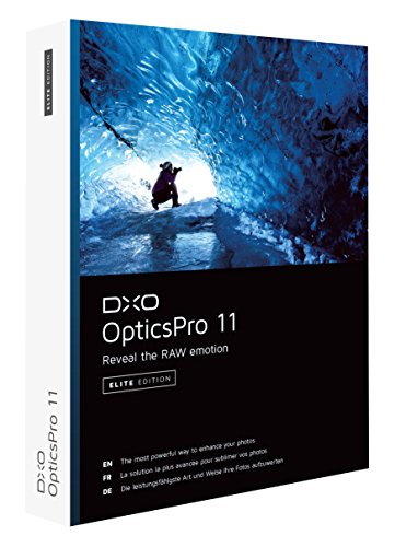 DxO Labs OpticsPro 11 Elite Edition Photo Enhancing Software, DVD by DxO