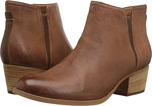 Clarks Women's Maypearl Ramie Ankle Bootie, Dark Tan, 7.5 M US by CLARKS