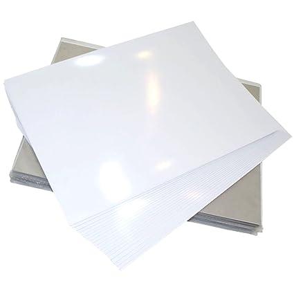 GOLINIT - Etiquetas adhesivas blanco altamente brillante ...
