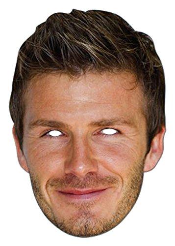Celebrity Masks David Beckham Mask - Beckham Glasses David