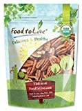 Food to Live Organic Pecans (Raw, No Shell, Kosher) (1.5 Pounds)