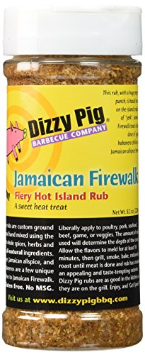Dizzy Pig BBQ Jamaican Firewalk Rub Spice - 8.1 oz by Dizzy Pig Barbeque