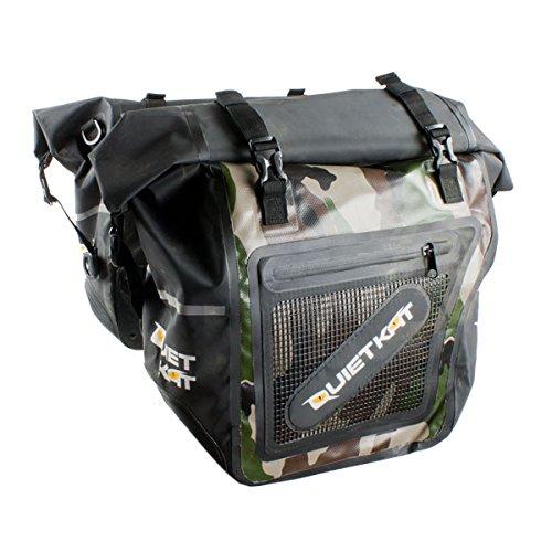 QuietKat Pannier Dry Saddle Bags for 750W & 1000W Fatkat Ebikes- Camo by QuietKat