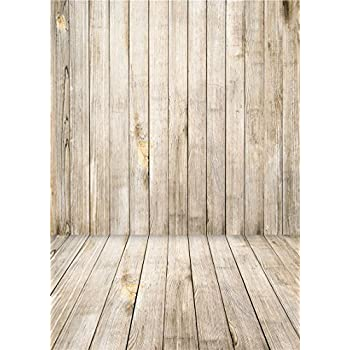 Daniu Wooden Floor Photography Backdrops Children Vinyl Baby Background  Photo Studio Props 5x7FT QX002