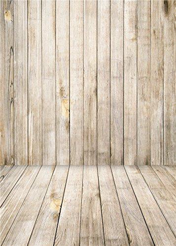 Daniu Wooden Floor Photography Backdrops Children Vinyl Baby Background Photo Studio Props 5x7FT QX002
